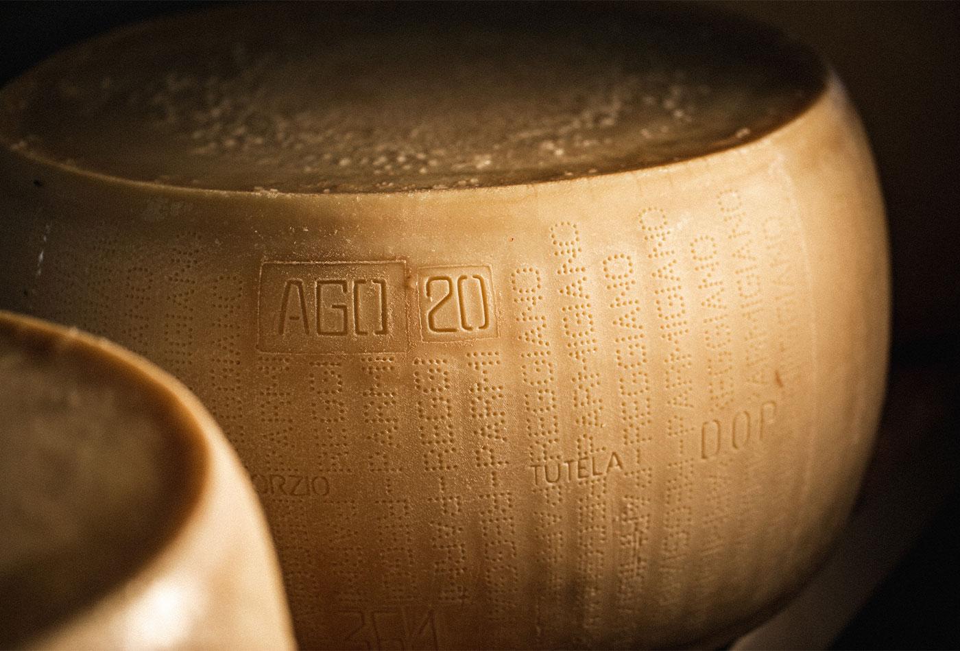 ingredienti del parmigiano reggiano